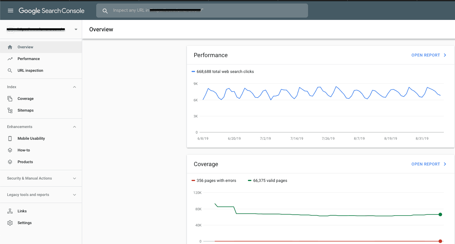 New Google Search Console UI