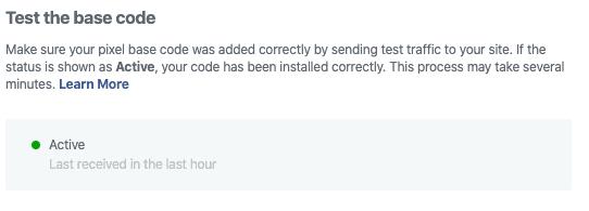 Facebook Ads Test Code