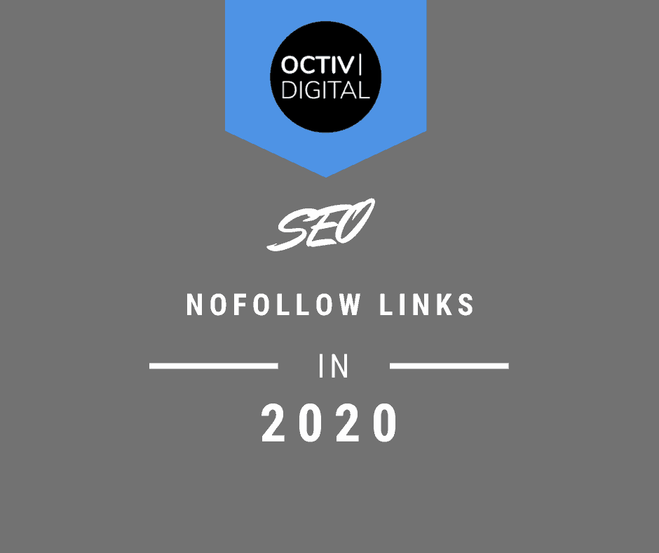 Nofollow Links in 2020